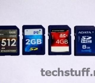 Карты памяти SD, SDHC, SDXC